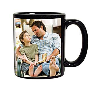 Black Personalized Coffee Mug: Personalised Gifts