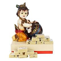 Blissful Bal Krishna: Send Handicraft Gifts to Mumbai