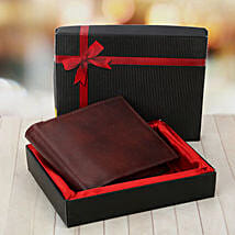 Brown Wallet: Leather Gifts