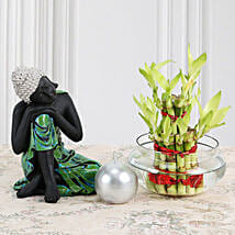 Buddha With Lucky Bamboo: Lucky Bamboo for Birthday