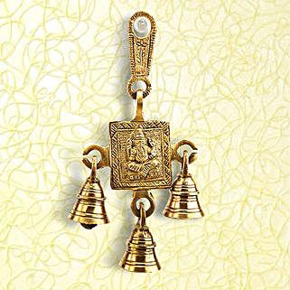 Chaturbhuj Brass Bell: House Warming