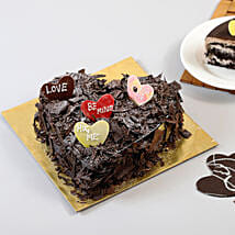 Choco Blast Love Cake: Romantic Cakes