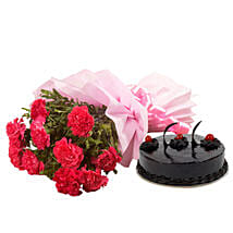 Chocolate Cake N Flowers: Hyderabad gifts