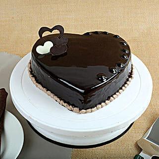 Chocolate Hearts Cake: Heart Shaped Cakes