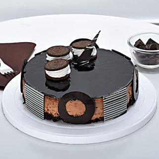 Chocolate Oreo Mousse Cake: Cakes to Dibrugarh
