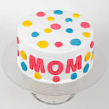 Colourful Mothers Day Cake: Cake Delivery in Thrissur