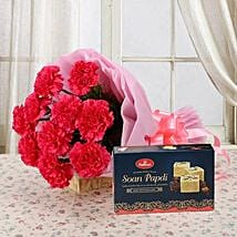 Combo from Heart: Send Flowers & Sweets