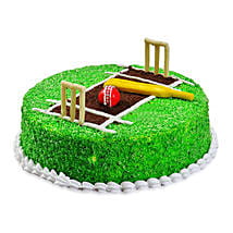 Cricket Pitch Cake: Son