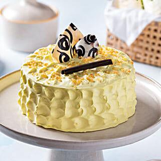Crunchy Butterscotch Cake: Gifts Bhai Dooj for Kids