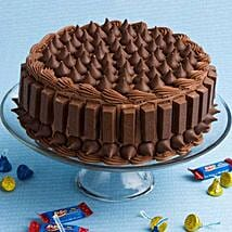 Crunchy Kit Kat Cake: Friendship Day Cakes