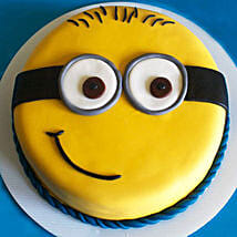 Cute Minion Cake: Cake Delivery in Pune