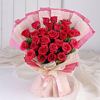 Cute Pink Roses Bunch: Roses