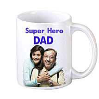 DAD Personalized Coffee Mug: Fathers Day Personalised Mugs
