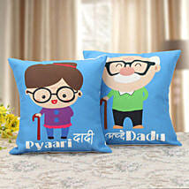 Dadu Dadi Cushion: Gifts for Grandparents