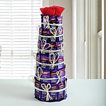 Delicious Dairy Milk Tower: Christmas Gifts For Boyfriend