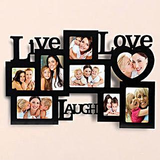 Elegant Love Photo Frame Lamp: Personalised Photo Frames