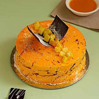 Exquisite Mango Cake:
