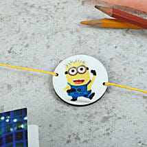 Favorite Minion Rakhi: Send Rakhi to Osmanabad