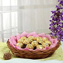 Ferrero Chocolate Basket: Same Day Chocolate Delivery