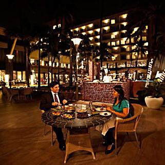 Fine Dining Amidst Juhu Beach: Mumbai gifts