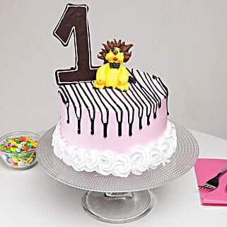 First Birthday Cake: Mango Cakes to Ghaziabad