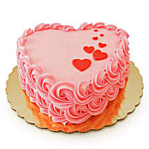Floating Hearts Cake: Send Valentines Day Cakes to Thane