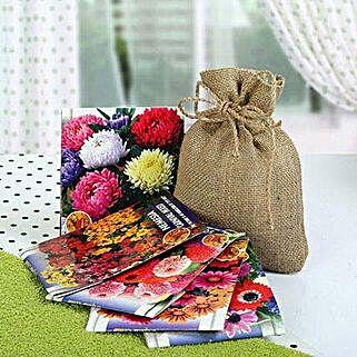 Flowering Seeds Hamper: