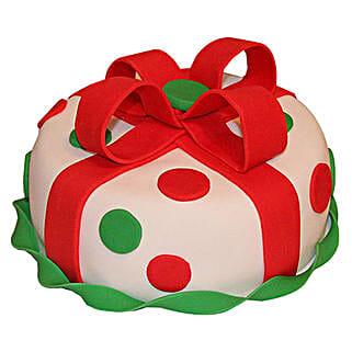 Fondant Christmas Cake: Christmas Gifts to Pune