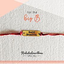 For Your Bade Bhaiya Quirky Rakhi & Card: Send Rakhi to Rajkot