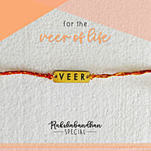 For Your Veer Quirky Rakhi & Card: Rakhi Gifts to Ludhiana