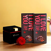 Forever Red Rose & Amul Chocolates: Send Flowers to Sitapur