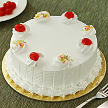 Fresh Vanilla Cake: Cake Delivery in Valsad