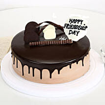 Friendship Day Chocolate Cake: Cake Delivery to Anakapalle