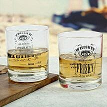 Frisky Whiskey Glasses: Unusual Gifts