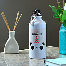 Funny Panda Personalised Steel Bottle: Gifts Bhai Dooj for Kids