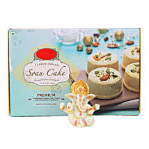 Ganesha Idol With Soan Cake: Sweets for Her