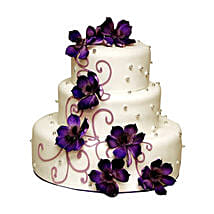 Glamorous Wedding Cake: Wedding Cakes to Delhi
