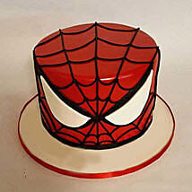 Glorious Spiderman Cake: