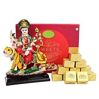 Goddess Durga and Sweets: Spiritual Gifts