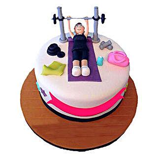 Gym Cake: Cakes for Friend