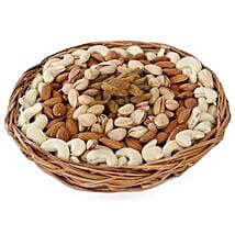 Half kg Dry fruits Basket: Send Karwa Chauth Gift Baskets