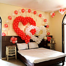 Hearty Decoration: Balloons Decorations