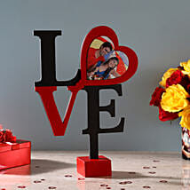 Hearty Love Frame: Personalised Photo Frames Gifts