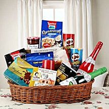 Hearty Sweet and Savory Basket: Fathers Day Gift Baskets