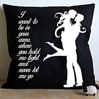 Hug Me Cushion: Home Decor Anniversary Gifts