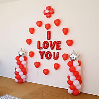 I Love You Balloon Decor: Balloons Decorations