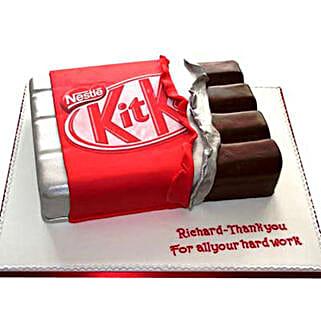 Kit Kat Shaped Cake: Cakes for Friend