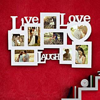 Live Laugh Love Frame Valentine: Valentines Day Photo Frames