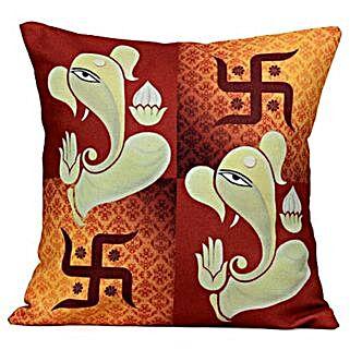 Lord Ganesha Cushion: Ganesh Chaturthi Gifts