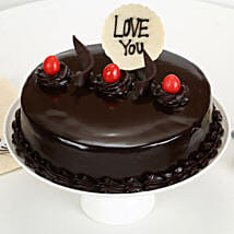 Love You Valentine Truffle Cake: Cakes Delivery India
